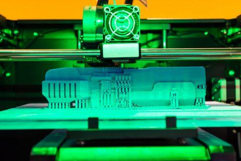 Ejemplo de impresora 3D