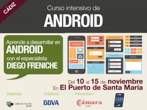 Curso intensivo de ANDROID para programadores en El Puerto de Santa María<!--:en-->Course: ANDROID developers  in El Puerto de Santa María